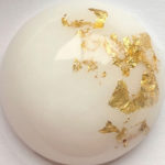 KeepsakeMom Breastmilk Jewelry Inclusion Real Gold Flakes