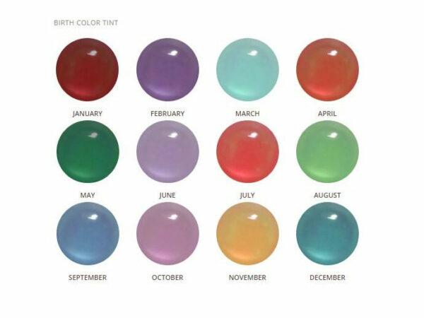 KeepsakeMom Breastmilk Jewelry Birth Color Tints