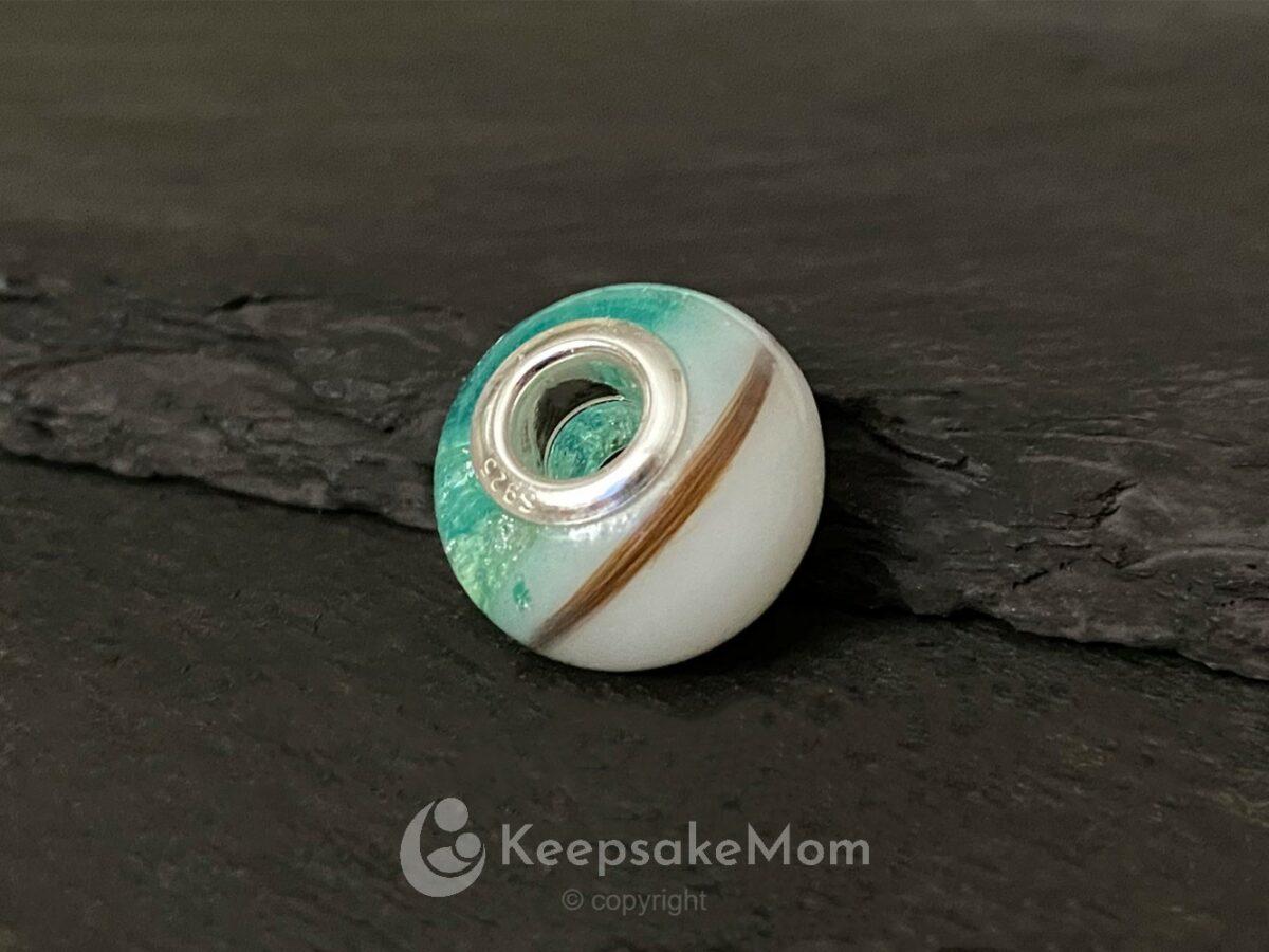 KeepsakeMom Breastmilk Jewelry Breastmilk Beads, Celebration Bead, Lock Of Hair