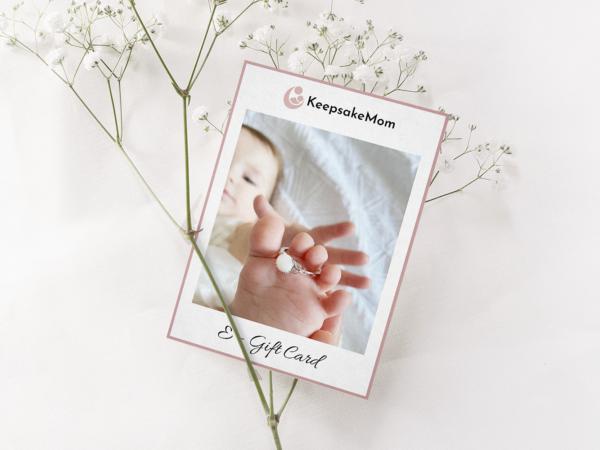 KeepsakeMom Breastmilk Jewelry Gift Cards