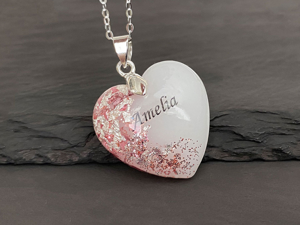 KeepsakeMom-breastmilk-jewelry-breastmilk-necklace-Baby-Girl-pink-silver