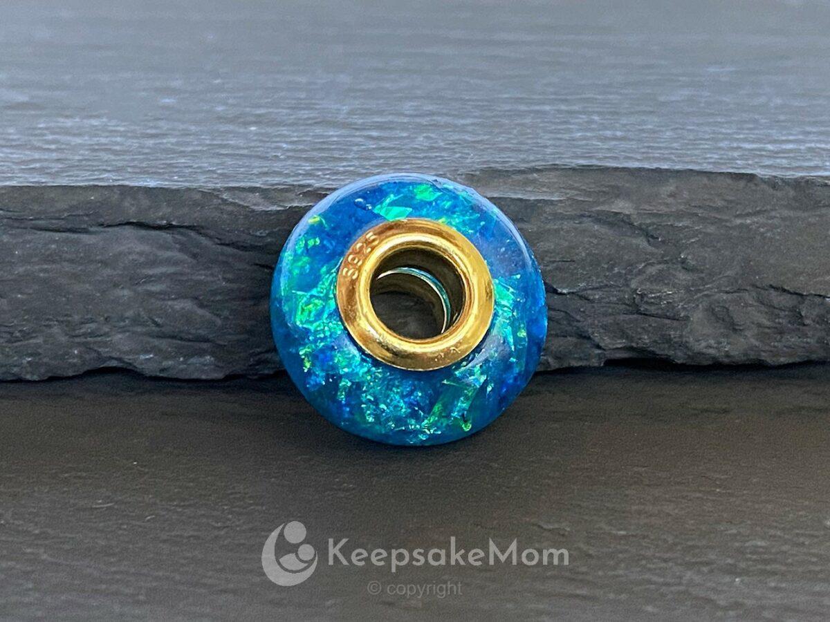 Breastmilk Jewelry Birth Color Bead