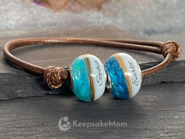 KeepsakeMom-Breastmilk-Jewelry-Breastmilk-Beads-Celebration-Bead-Lock-of-Hair-bracelet-two