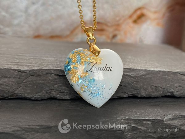 breastmilk-jewelry-heart-necklace-blue-gold-name