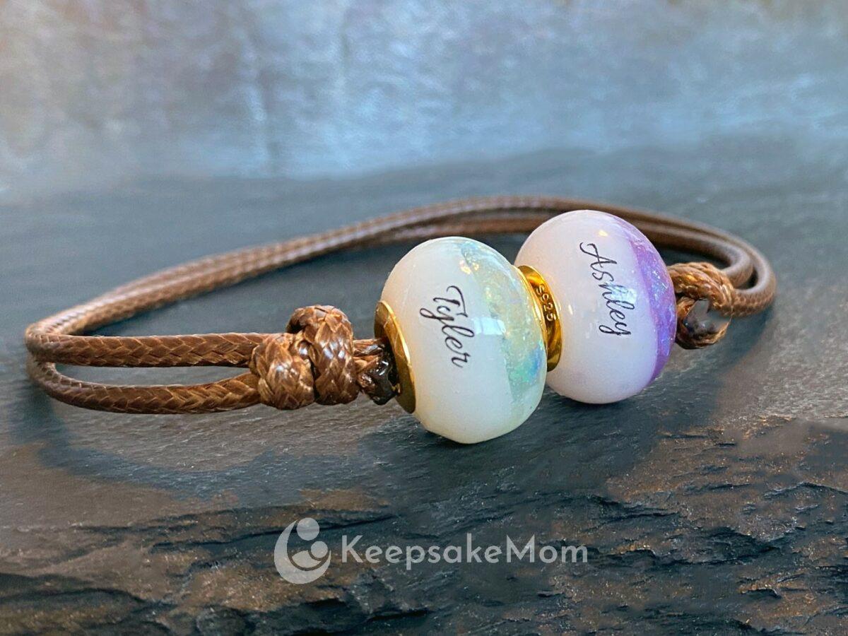 Breast Milk Bracelet Birth Colors Names March February Aqua Color