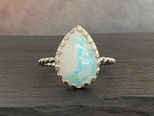 breastmilk-silver-ring-blue-opal-glakes-drop